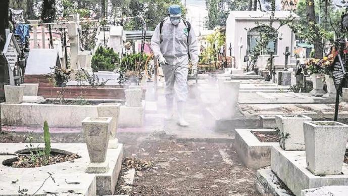 Camposantos en Edomex cerrarán sus puertas para evitar contagios de Covid-19