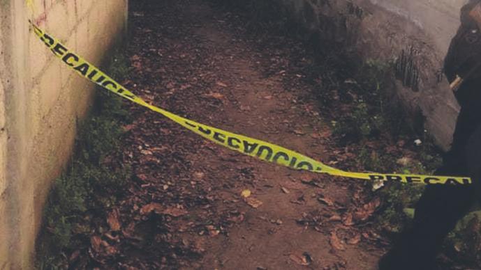 Matan a golpes a un hombre en el Edomex, lo dejan desnudo y amarrado en un callejón