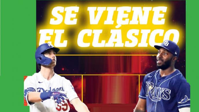 Tampa Bay y Dodgers con presencia mexicana, abren el camino al título en GL