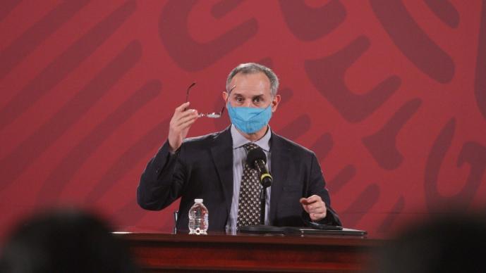 López-Gatell advierte sobre riesgo de rebrote de Covid-19 en ocho estados del país