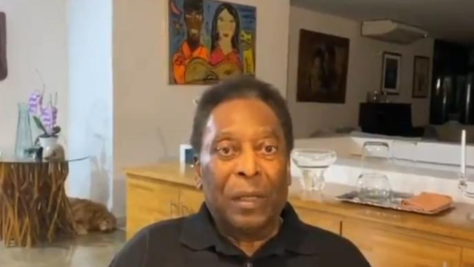 Pelé manda mensaje de agradecimiento por llegar a los ochenta años de edad con salud