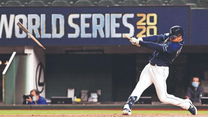 Tampa Bay derrota a los Dodgers, en un dramático encuentro