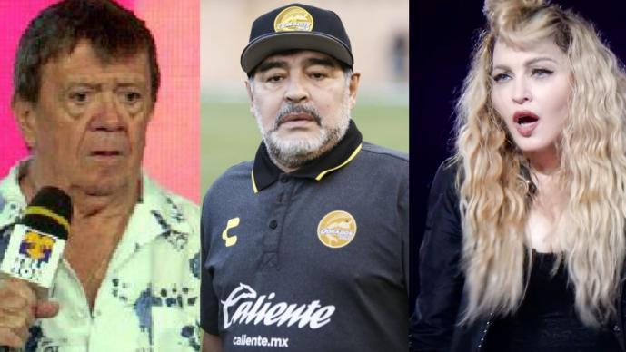 Chabelo y Madonna se vuelven tendencia tras muerte de Maradona, esta es la razón
