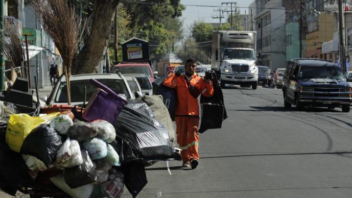 Vecinos de la Basílica de Guadalupe celebran que este año no habrá basura de peregrinos