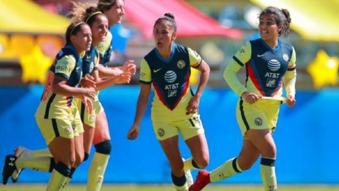 América se lleva la ventaja frente a Chivas en los Cuartos de final en la Liga Femenil