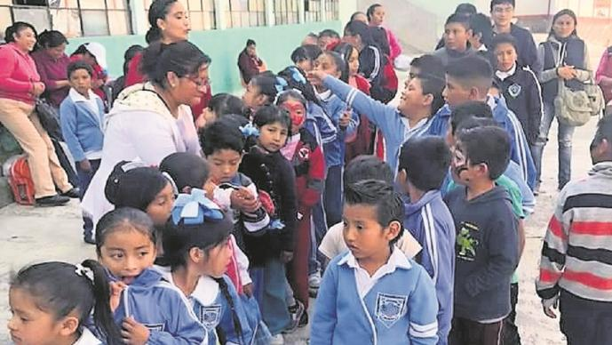 Arranca colecta de chamarras para un centenar de niños de Tlacotepec en Toluca