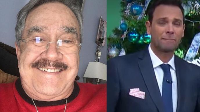 Criticaron Pedro Sola y Bisogno a Borghetti tras llanto por Maradona