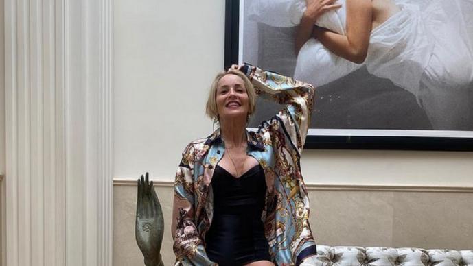 Sharon Stone festeja 62 años, revela que fue convocada por el equipo de Joe Biden