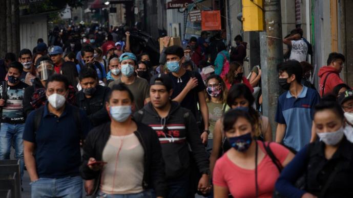 México reporta 14 mil 395 nuevos contagios y mil 314 nuevas muertes por Covid-19