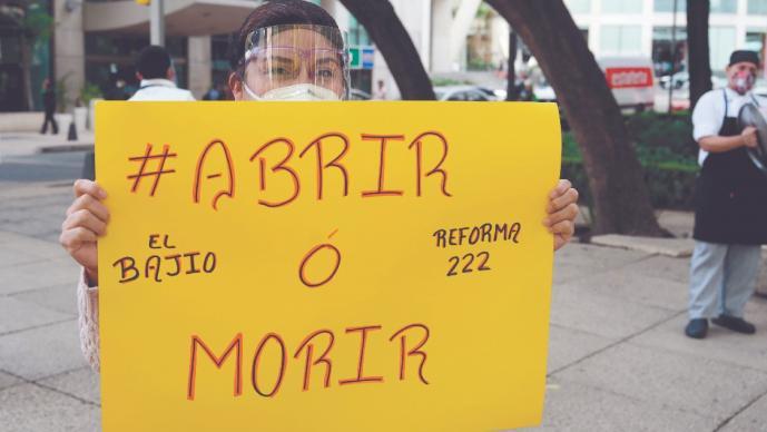 Covid mató a 647 mil 710 empleos formales en México, durante el 2020