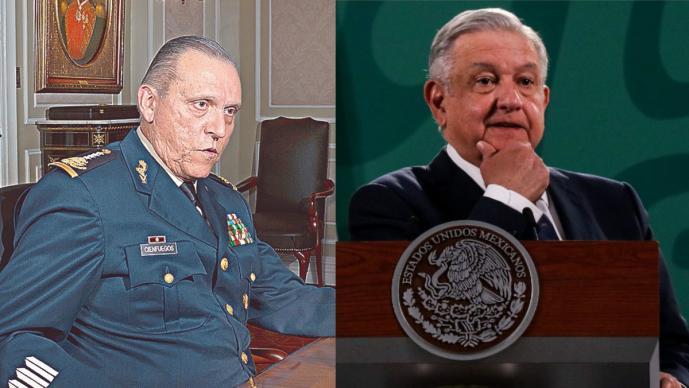 AMLO respalda exoneración al general Salvador Cienfuegos y habla de fabricación de pruebas