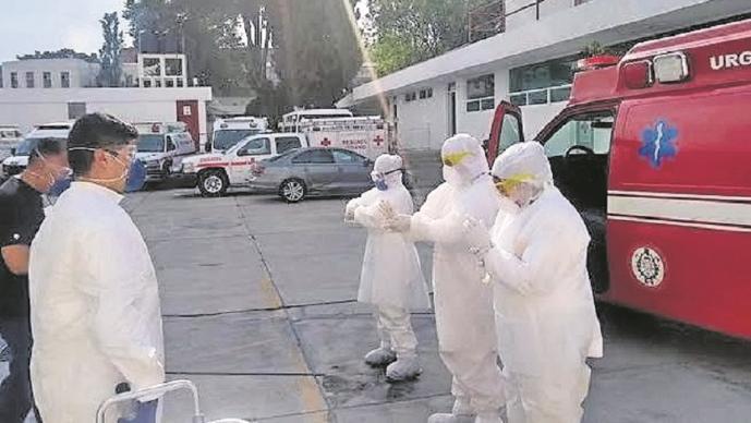 Cruz Roja de Morelos reporta alza de traslados de enfermos Covid por festejos de fin de año