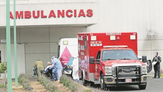 Hospitales Covid en el Edomex al punto del colapso, 25 ya se encuentran saturados