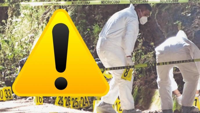 Policías se topan con cuatro ejecutados en La Marquesa, una de las víctimas era una mujer