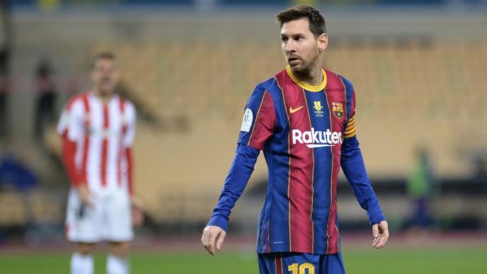 Lionel Messi y la agresión que le costó su primera expulsión con Barcelona