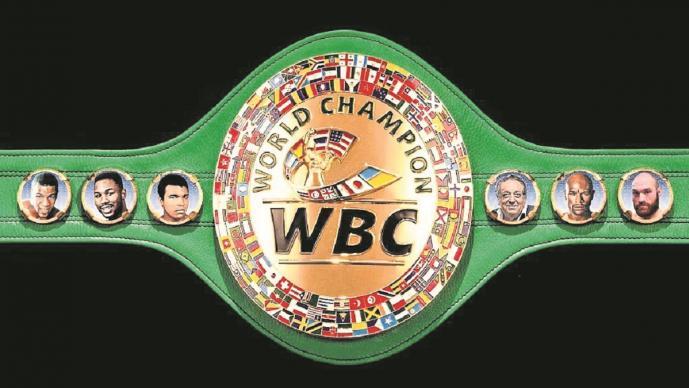 CMB inmortaliza a Floyd Mayweather Jr., incluyen su imagen en el cinturón de campeones