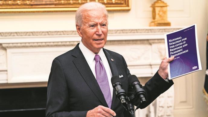 Joe Biden alista batalla contra el Covid en Estados Unidos, exigirá reducir contagios