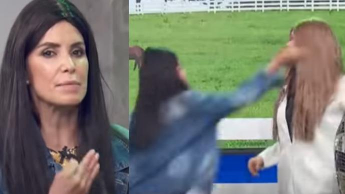 Tachan de violenta a Andrea Escalona, tras propinarle cachetadón a compañera de