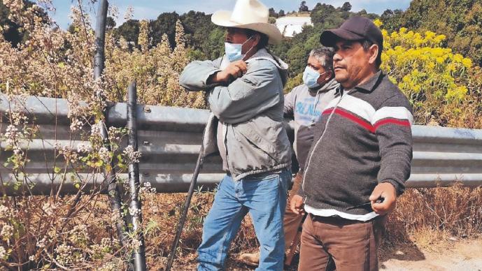 Ejidatarios mexiquenses cortan mangueras a ladrones de agua