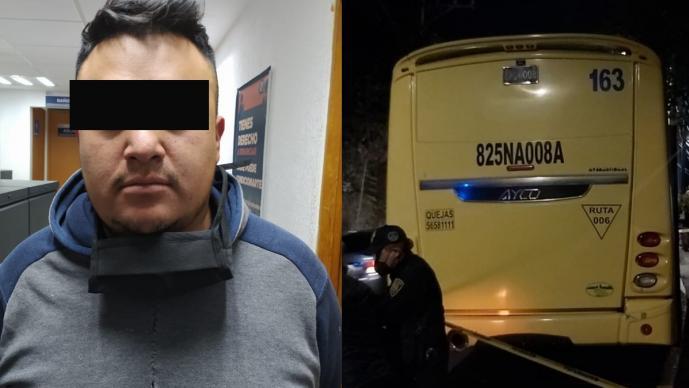Atoran a asaltantes que atracaron y balearon a pasajeros de un autobús, en la CDMX