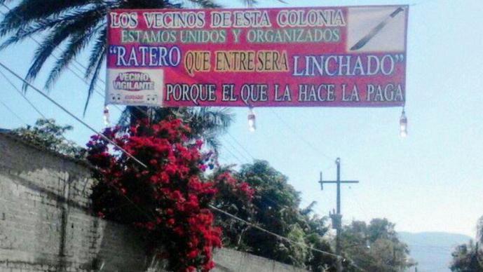 Estrenan alarma vecinal y vecinos casi linchan a ladrón, en Morelos