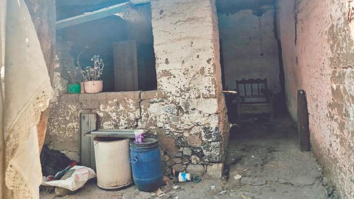 Chabela de 25 años apareció muerta y semidesnuda dentro de una casa abandonada, en Edomex