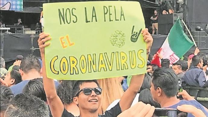 ¿Nos la pela el coronavirus?, el rebelde concierto del Vive Latino que fue el último del 2020