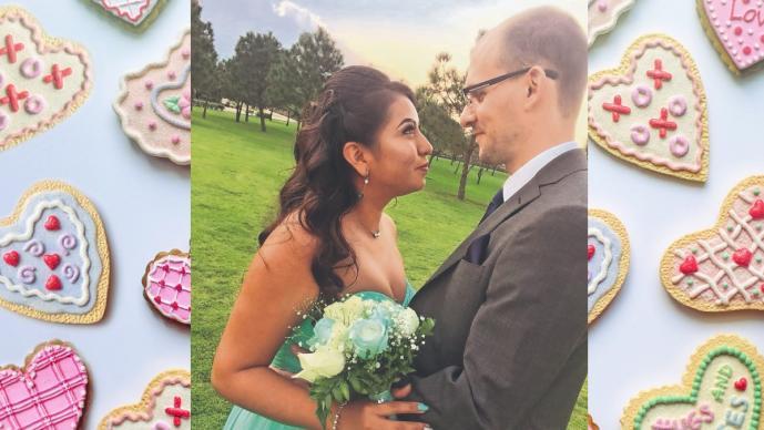 Intérprete médico se quedó sin chamba en plena pandemia, y ya vende pasteles para casarse