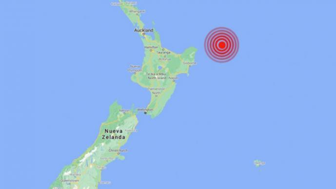 Sismo de casi 7 grados sacude Nueva Zelanda y genera alerta de tsunami