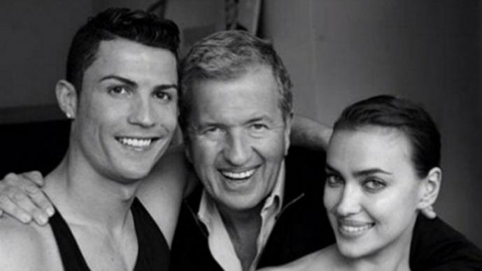Cristiano Ronaldo y Irina Shayk
