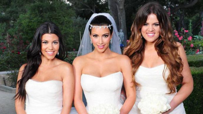 Kim Kardashian y sus hermanas