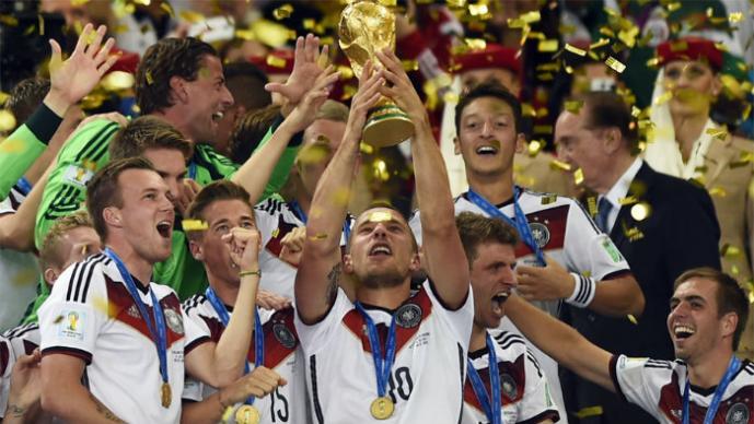 Así felicitan al campeón del mundo
