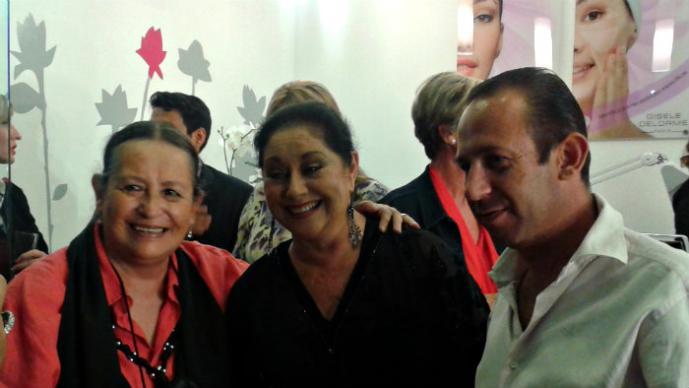 Angélica Aragón inaugura spa exclusivo en la Ciudad de México, Gisele Delrome  Beauty Bar & City Spa