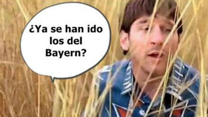 Memes del Barcelona, tras derrota ante el Bayern