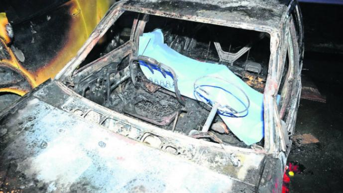 Le prenden fuego a indigente  (Foto: El Gráfico)