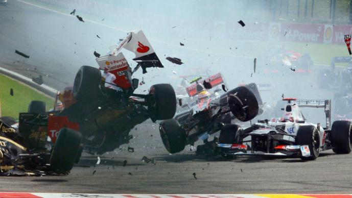 accidentes F1