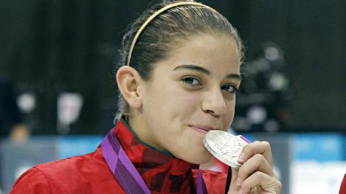 A sus 15 años, Ale Orozco se convirtió en medallista olímpica
