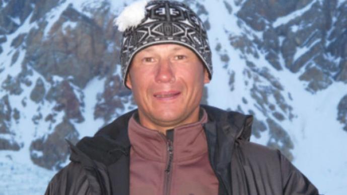 Alexéi Bolotov falleció tras caer del Everest