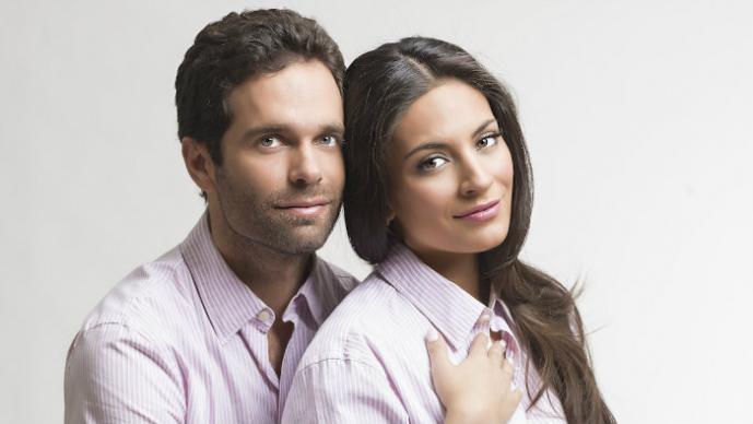 Ana Brenda Contreras y Alejandro Amaya