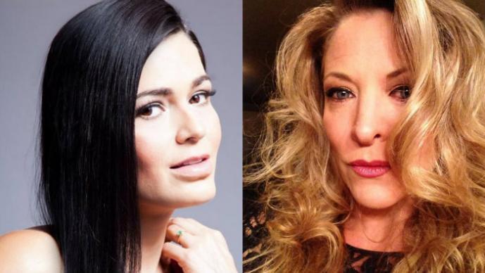 Alejandra Prado y su relación lésbica con Andrea Noli