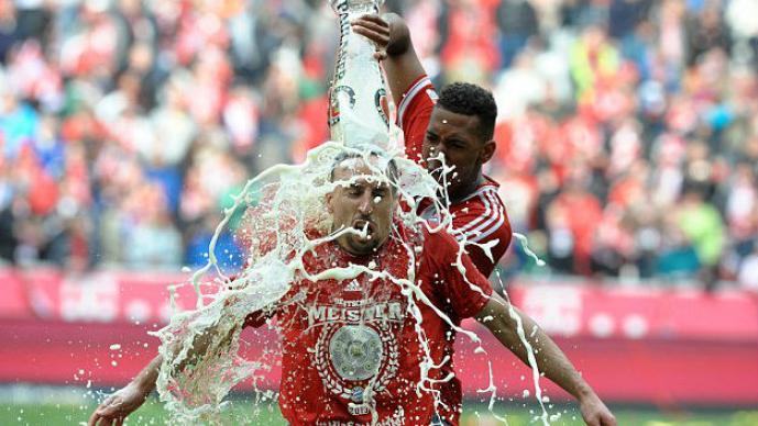 Ribery está muy molesto con Boateng por la cerveza