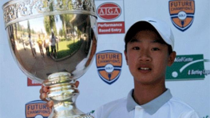 Wocheng, con 12 años, será el participante más joven en la historia del Volvo China Open
