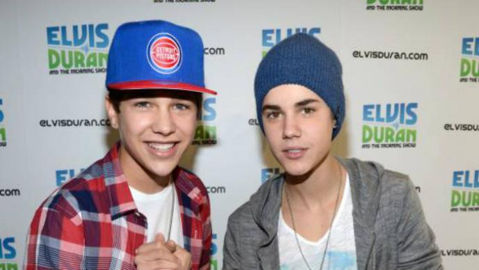 Austin Mahone, Justin Bieber