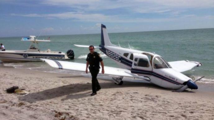 Hombre muere tras ser aplastado por avioneta