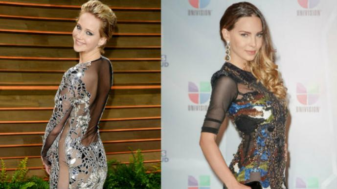 Jennifer Lawrence y Belinda