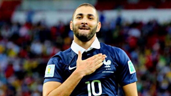 Benzema es criticado por no respetar el himno de Francia