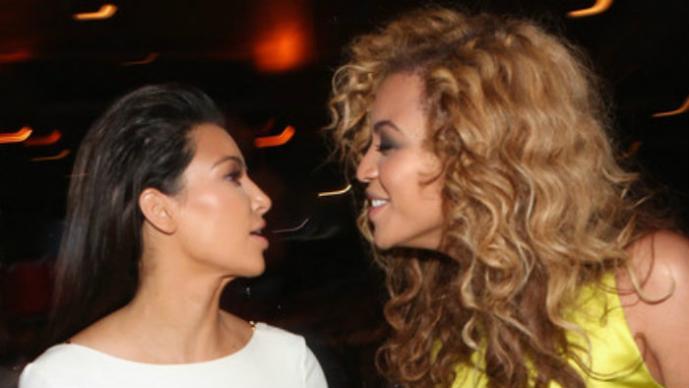 Kim Kardashian, Beyoncé