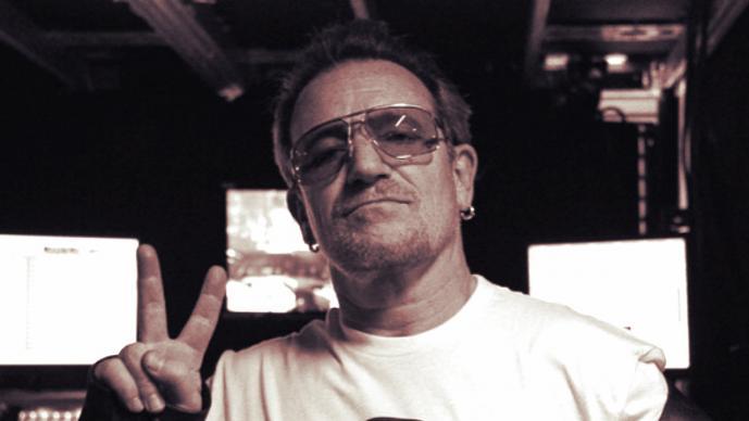 Bono: Foto >>> Instagram U2