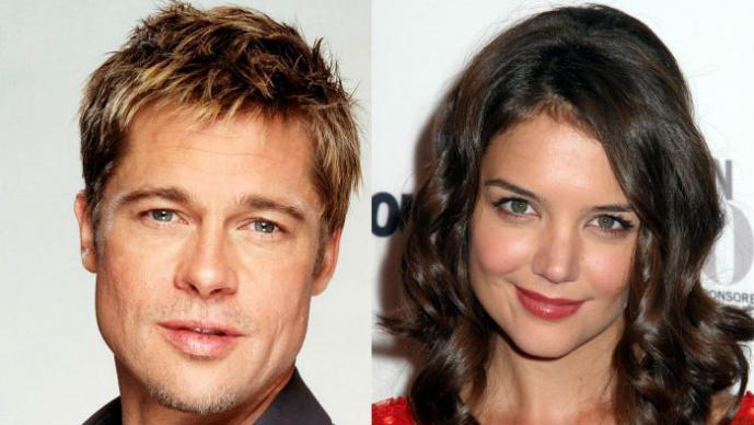 Brad Pitt, Katie Holmes