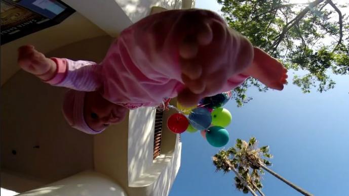 Bebé volador